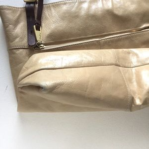 6b01089733e34 HOBO Bags | Lennon Leather Tote In Pumice | Poshmark